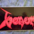VENOM STICKER red classic logo