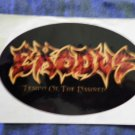 EXODUS STICKER Tempo Of The Damned PROMO