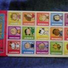 PEANUTS STICKER SET snoopy charlie brown woodstock two sheets sandylion import MIP