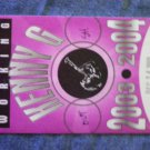 KENNY G BACKSTAGE PASS 2003-2004 Tour jazz working bsp