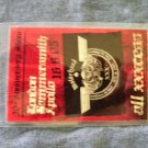 MOTORHEAD BACKSTAGE PASS 30th Ann london hammersmith apollo bsp laminate