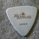 KILL HANNAH GUITAR PICK Greg Corner blue