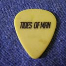 TIDES OF MAN GUITAR PICK Spencer Gill yellow