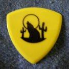 STEVE MILLER GUITAR PICK wolf logo band yellow
