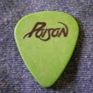 POISON GUITAR PICK Bobby Dall green