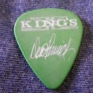 KING'S X GUITAR PICK Doug Pinnick smoking weed with friends green kingsx