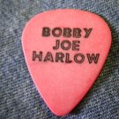 BOBBY JOE HARLOW GUITAR PICK texas salmon SALE