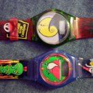 NIGHTMARE BEFORE CHRISTMAS WATCH santa claus hill jack burger king nbc LOT OF 2