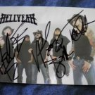 HELLYEAH FLYER Below The Belt postcard pantera mudvayne AUTOGRAPHED