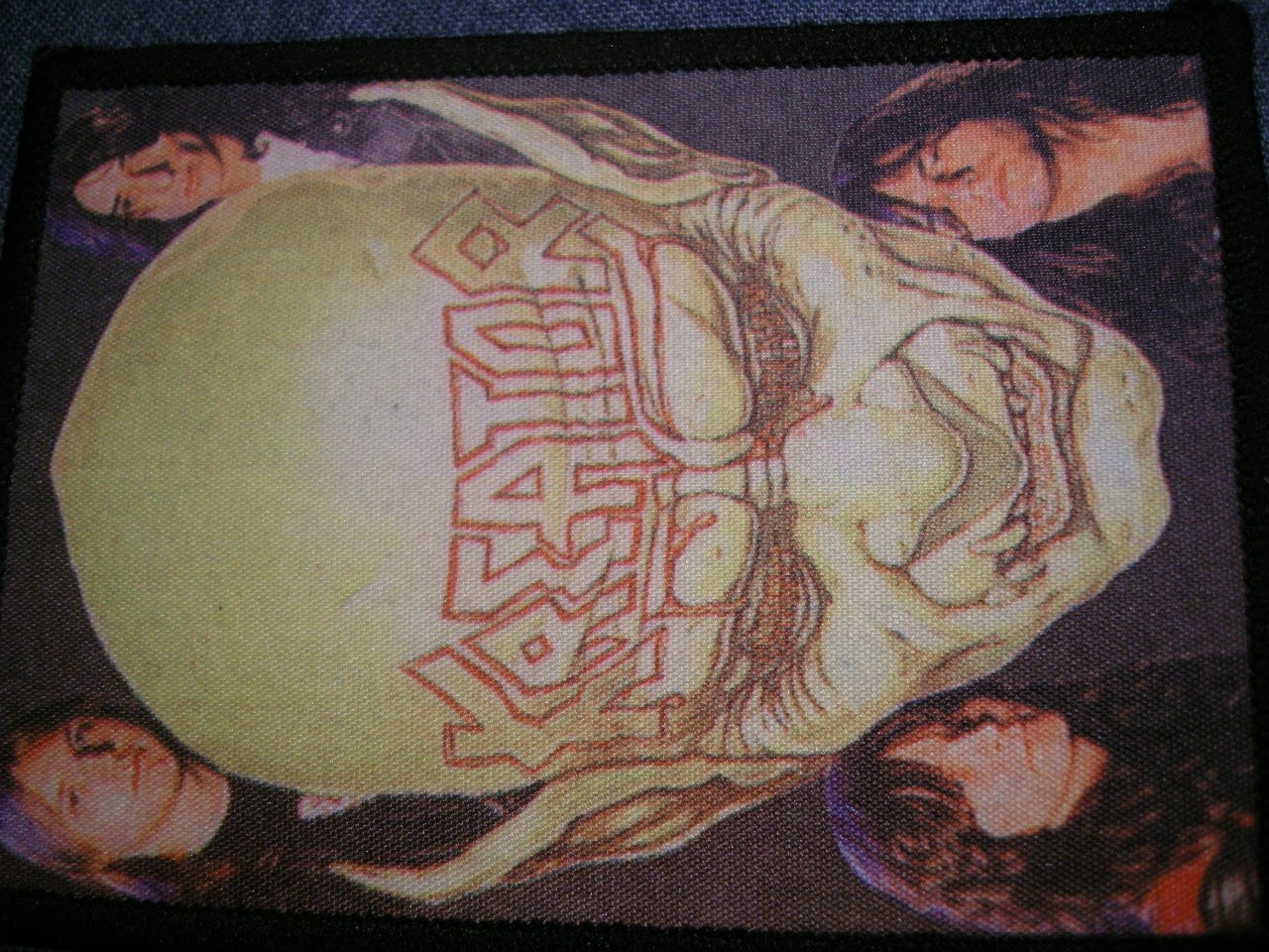 KREATOR sew-on PATCH Coma of Souls demon band photo VINTAGE
