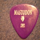 MASTODON GUITAR PICK Ozzfest 2005 purple
