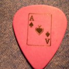 DOPE GUITAR PICK Ace of Spades purple