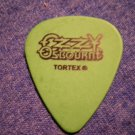 OZZY OSBOURNE GUITAR PICK Robert Trujillo whiskey warlord metallica green