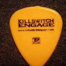 KILLSWITCH ENGAGE GUITAR PICK Ozzfest 2005 yellow