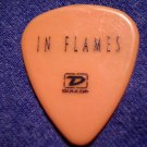 IN FLAMES GUITAR PICK Ozzfest 2005 orange