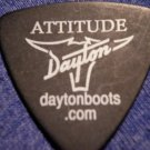 STRAPPING YOUNG LAD GUITAR PICK Attitude dayton boots black