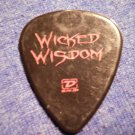 WICKED WISDOM GUITAR PICK Ozzfest 2005 jada pinkett smith