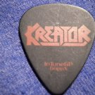 KREATOR GUITAR PICK Millie Petrozza black