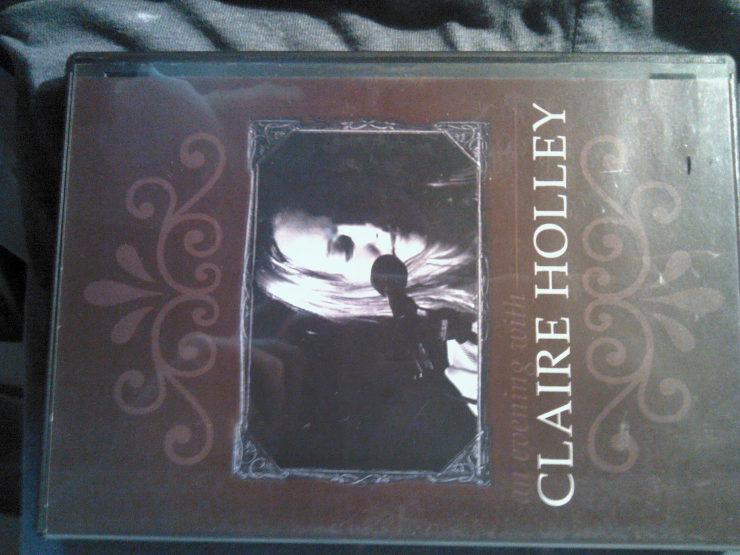 DVD CLAIRE HOLLEY An Evening With SALE