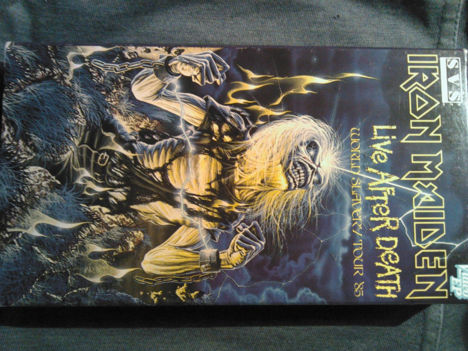 VHS IRON MAIDEN Live After Death 1985