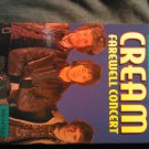 VHS CREAM Farewell Concert eric clapton HTF