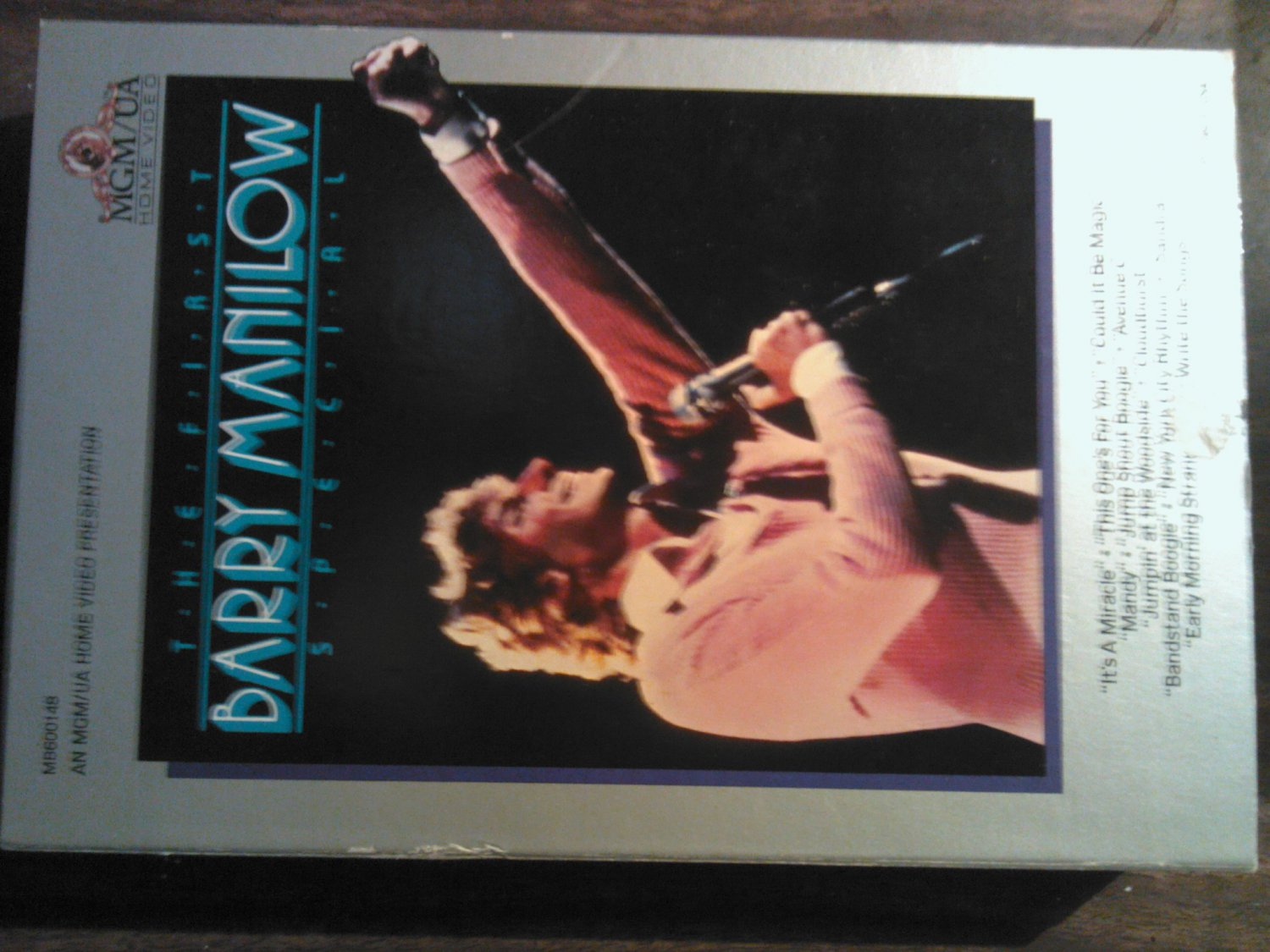 BETA BARRY MANILOW The First Special video vintage SALE