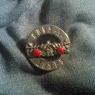 GUNS N ROSES METAL PIN classic logo badge gnr VINTAGE
