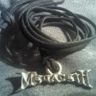 MEGADETH METAL NECKLACE small classic logo VINTAGE