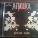 CD METALLICA Mama Said Part 2 4trk single IMPORT