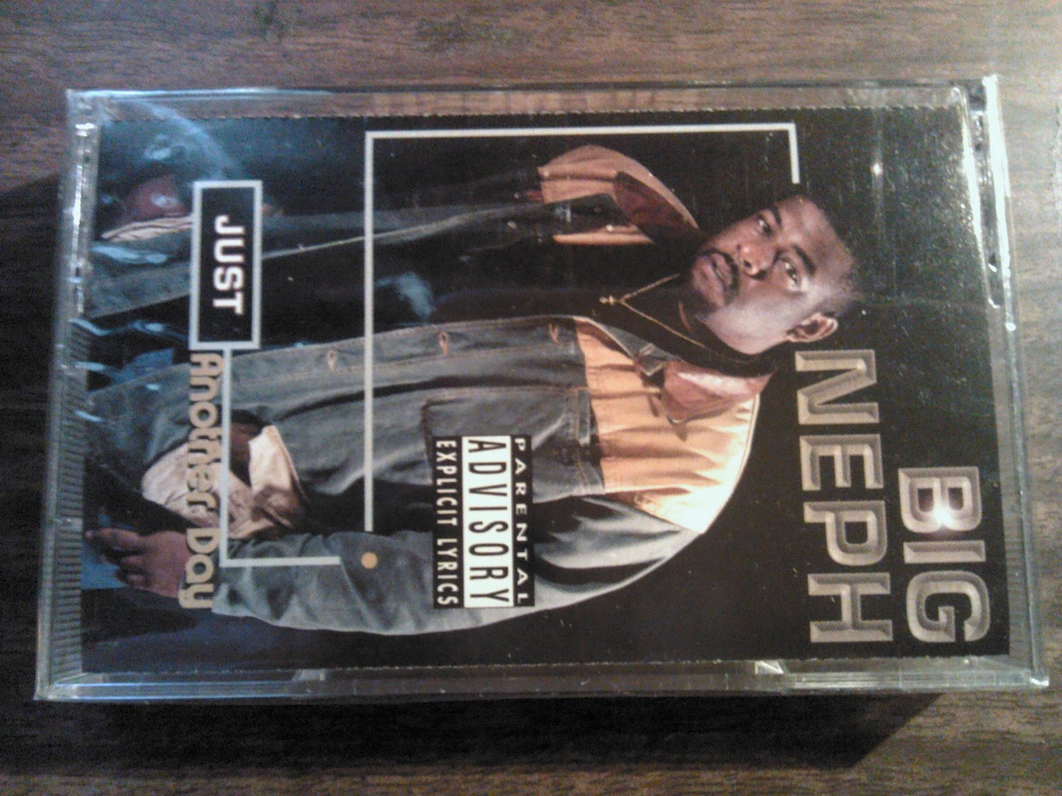 BIG NEFF cassette tape Just Another Day rap SEALED SALE