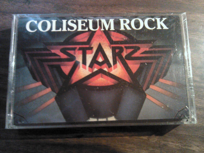 STARZ cassette tape Coliseum Rock it's a riot SEALED