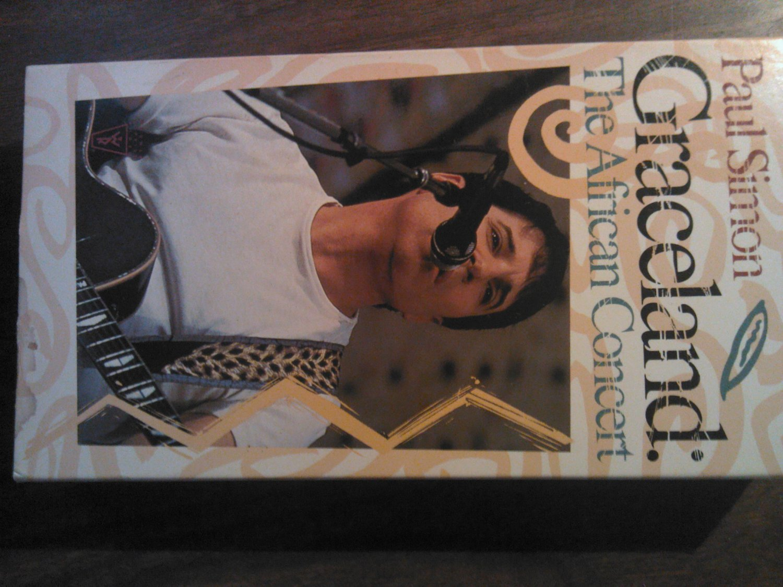 VHS PAUL SIMON Graceland The African Concert