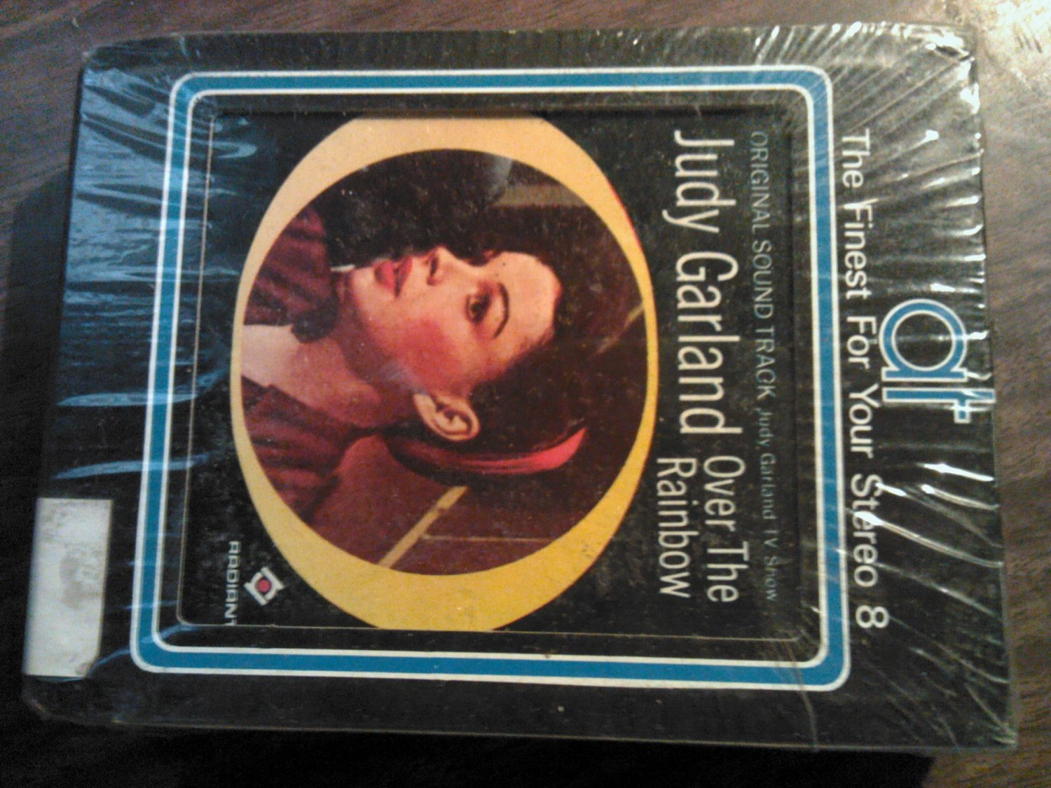 JUDY GARLAND 8-TRACK TAPE Over the Rainbow vintage SEALED