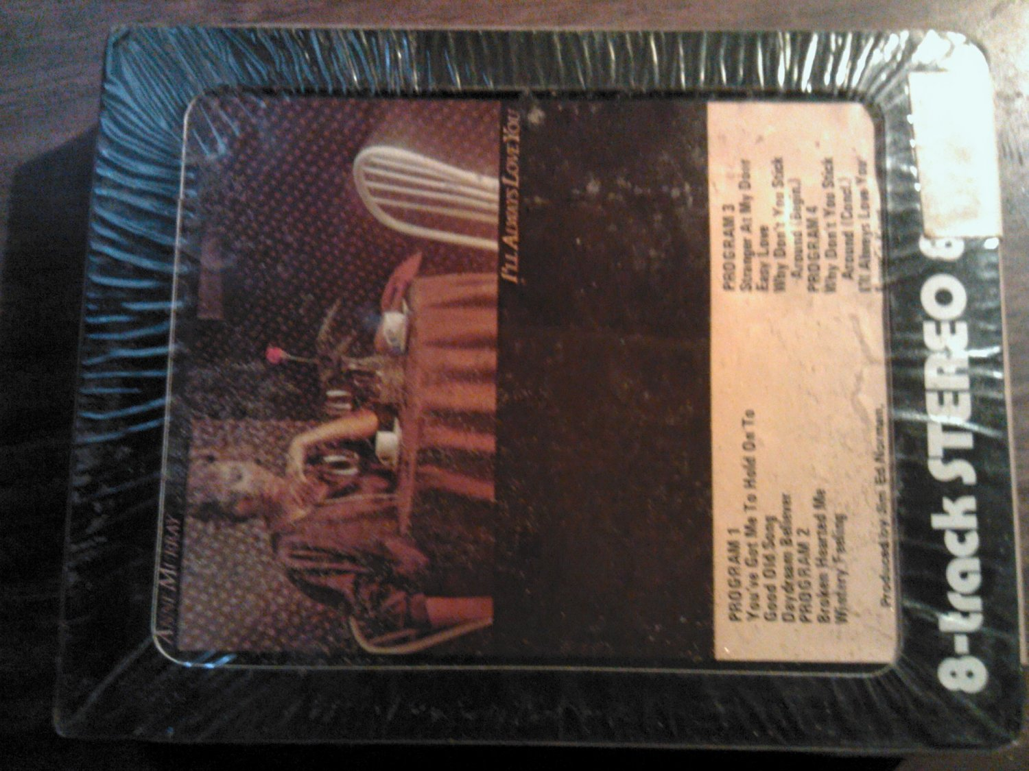 ANNE MURRAY 8-TRACK TAPE I'll Always Love You vintage SEALED