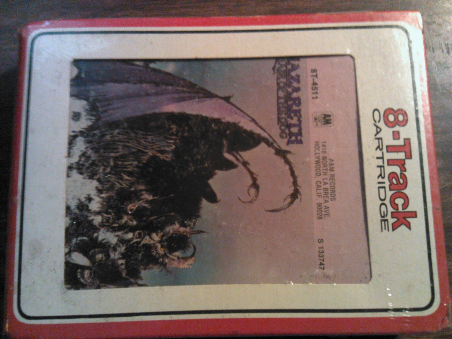 NAZARETH 8-TRACK TAPE Hair of the Dog vintage SEALED