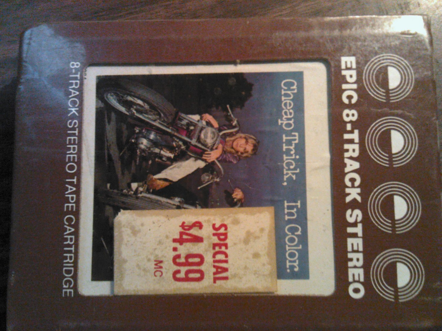 CHEAP TRICK 8-TRACK TAPE In Color vintage SEALED
