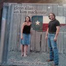 CD GLENN ALLAN WITH KIM MACKENZIE Paradise Texas flaco jimenez country tejano SALE