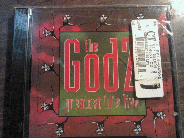 CD THE GODZ Greatest Hits Live gotta keep a runnin SEALED