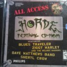 CD-ROM HORDE FESTIVAL blues traveler ziggy marley sheryl crow dave matthews band bonus 2 DISC