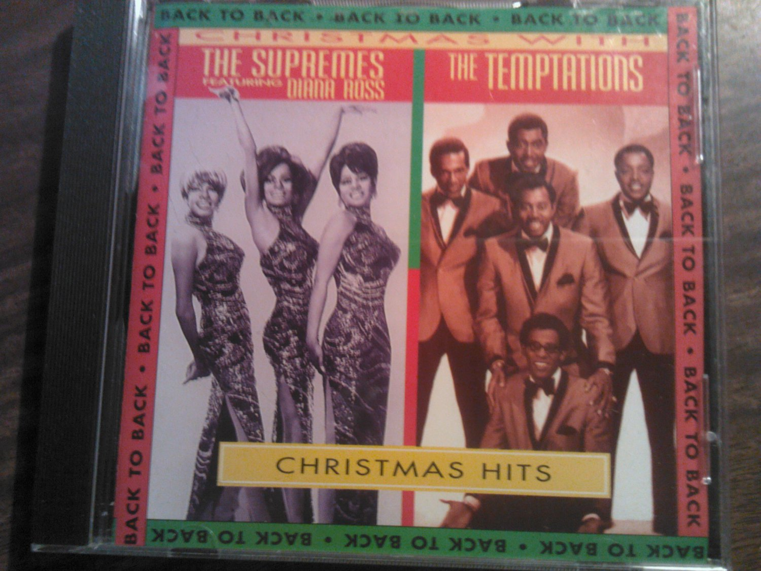 CD THE SUPREMES/THE TEMPTATIONS Christmas Hits diana ross holiday SALE