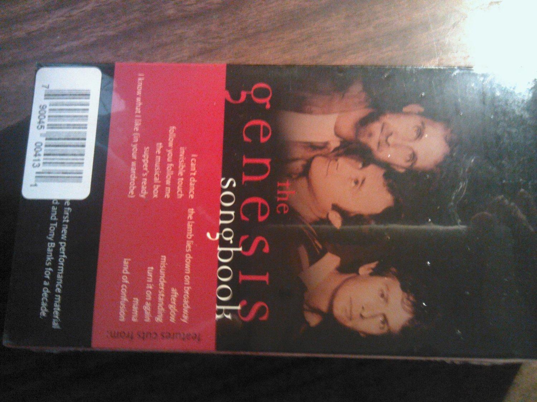 VHS GENESIS The Songbook phil collins peter gabriel SEALED