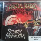 CD SCARY MANILOW Thrill Ride to the Apocalypse texas SEALED