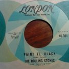 45 THE ROLLING STONES Paint It Black b/w Stupid Girl london vintage vinyl record