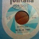45 THE ROLLING STONES dandelion b/w we love you london vintage vinyl record