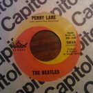 45 THE BEATLES Penny Lane b/w Strawberry Fields Forever vintage vinyl record