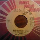 45 TRIUMPH Magic Power short/long vintage vinyl record PROMO