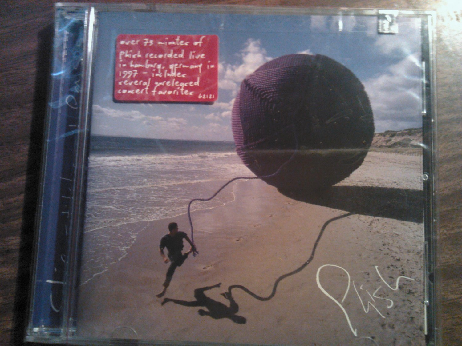 CD PHISH Slip Stitch and Pass live SEALED