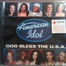 CD AMERICAN IDOL God Bless the USA clay aiken ruben studdard corey clark promo single SEALED SALE