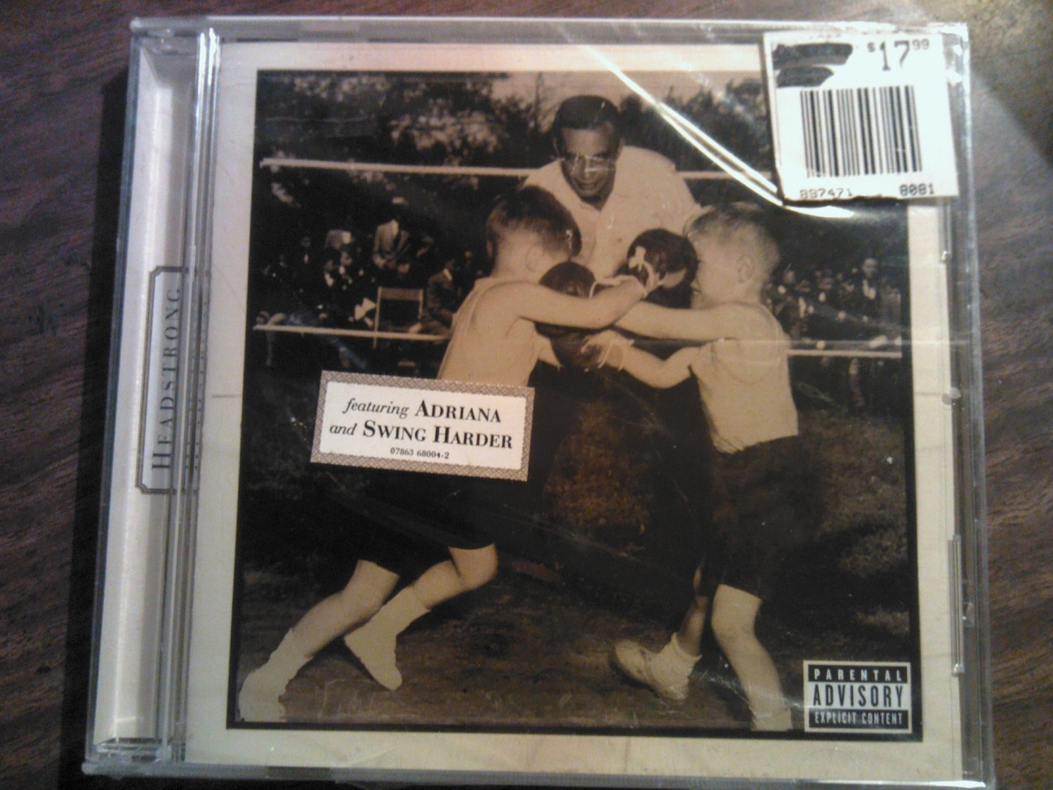 CD HEADSTRONG s/t adriana swing harder SEALED
