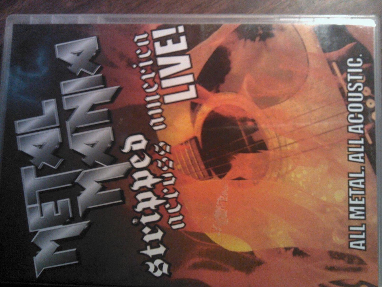 DVD METAL MANIA Stripped Across America Live winger firehouse slaughter la  guns